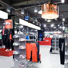 Lab Sports Retail Design - Cardiff